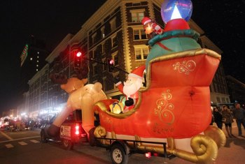 Dutch Miller Sponsoring Huntington Christmas Parade