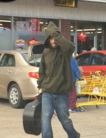 Person of Interest in Barboursville Car Theft