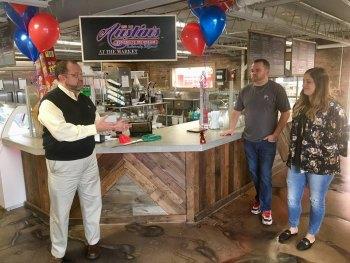 Austin's Ice Cream Opens in Huntington