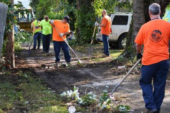 Huntington Sets March Clean Up