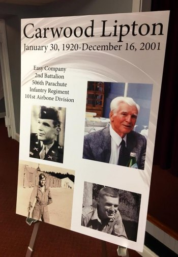 "Huntington ""Band of Brothers"" Veteran Honored"