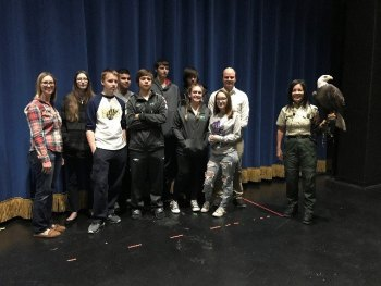 Death of Bald Eagle Yields Life Lessons for West Virginia Students