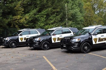 Huntington adds Five Police Cars, Two Probationary Officers