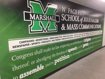 Upgraded  Journalism/Mass Communications Hallway Unveiled