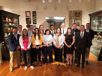 Marshall School of Medicine inducts new medical honor society members