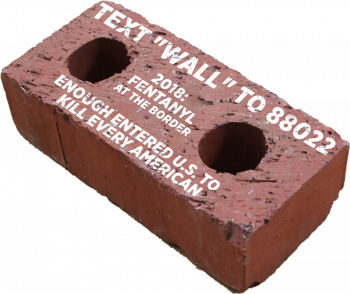 Trump Campaign: send a brick to Chuck and Nancy