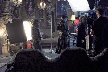"Scene from Burton's ""Dark Shadows"""