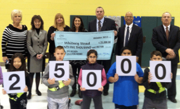 Cabell Teacher Receives National Cash Award of $25,000