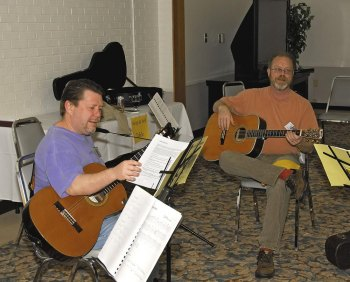 Guitar Retreat Weekend at Twin Falls Resort State Park March 18-20, 2016