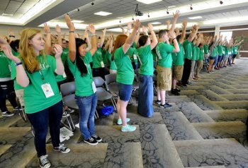 Nearly 200 of West Virginia's most promising high school sophomores visit Marshall for leadership seminar