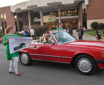 Marshall homecoming parade registration now open