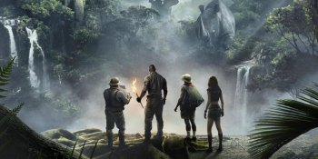 "FIRST LOOK: ""Jumanji Welcome to Jungle"" has an Indy/Jurassic Look;"