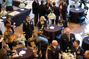 Military VIPs attending Inaugural Event at Cultural Center