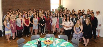 Scholarship donors, recipients honored at annual brunch