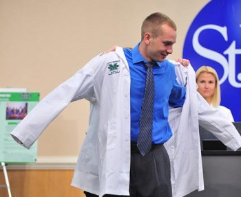 Marshall's School of Physical Therapy invites community to White Coat Ceremony