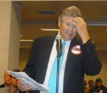 The late Jim Ritter at 2011 Corps. hearing