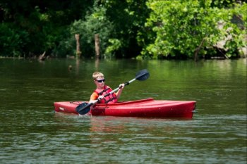 Paddle at a West Virginia state park on National Canoe Day June 26