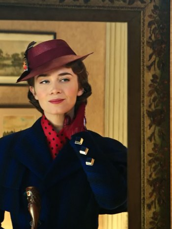 "Emily Blunt nominated for ""Mary Poppins Returns"""