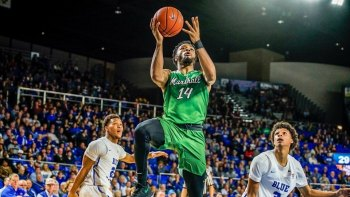 Marshall Gains Bye in CUSA Tournament
