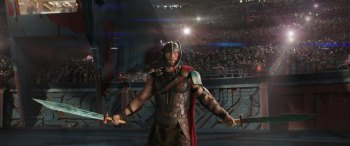 FIRST LOOK :  Thor Ragnarok Thunders in the Disco Light