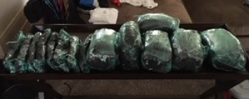 Thirty-Eight Pounds of Suspected Methamphetamine Seized During Drug Investigation