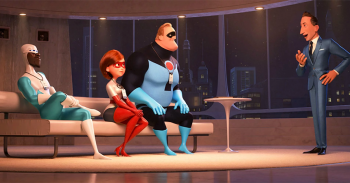 "FIRST LOOK: ""Incredibles 2"" Expected to Set Animated Film Records"