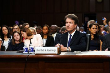 MARK CASERTA: Kavanaugh Hearings Become Senate Circus