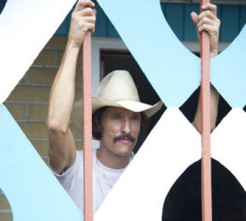 "Matthew McConaughey in ""Dallas Buyers Club"""