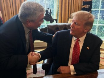 W.Va. AG Discusses Coal, Substance Abuse with President Trump