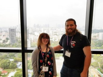 Marshall students, professor present mathematics research at international conference in Singapore