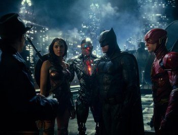 "FIRST LOOK: An Action Filled, Slightly Tongue in Cheeck ""Justice League"" Inspires"