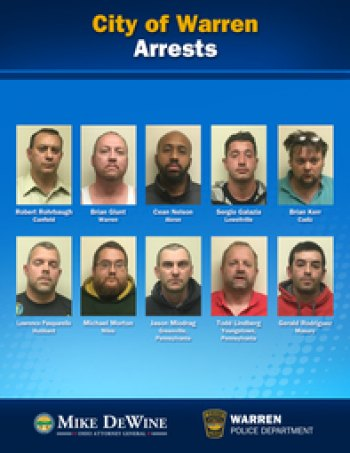 Ten Arrested in Undercover Reduce Sex Trafficking Operation