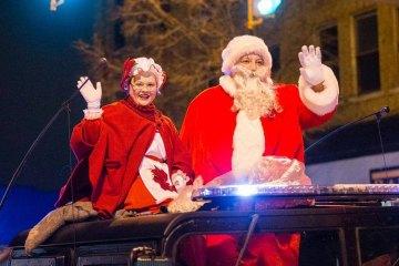 Huntington Christmas Lights Parade Saturday