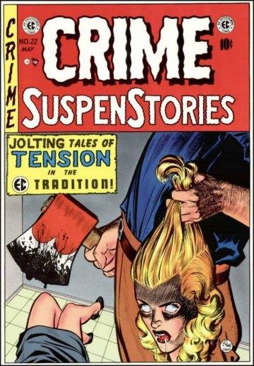 40s horror comic book deemed objectionable