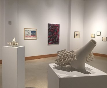 Marshall art faculty exhibition to end Sept. 30; reception to precede closing