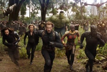 Avengers Infinity Opens April 27