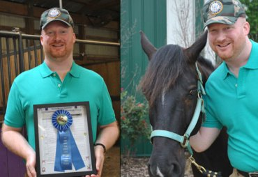 Jason Bunn had no idea that one day a horse named Marco would change his life.