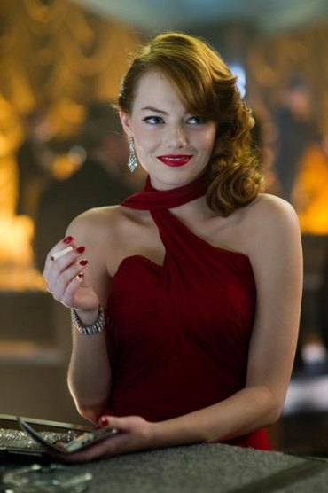 "EMMA STONE as Grace Faraday in Warner Bros. Pictures' and Village Roadshow Pictures' drama ""GANGSTER SQUAD."""