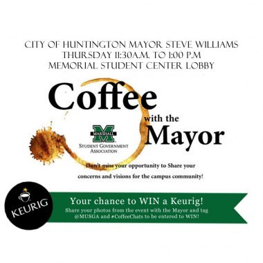 'Coffee with the Mayor' returns to Marshall University this week