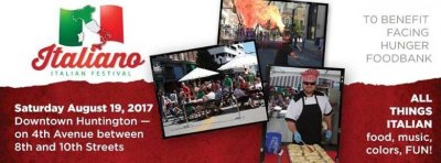 Italiano Food Festival Saturday Aug. 19 in Huntington