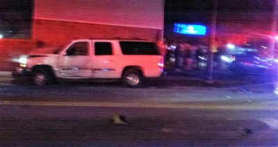 BREAKING: Man Seriously Injured in Huntington Stabbing, Wreck on Hal Greer Thursday Night