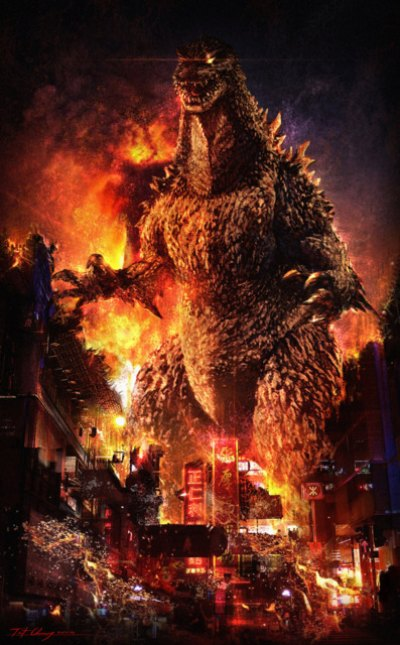 "Blazing ""Godzilla"" Heading to a Cinema Near You"