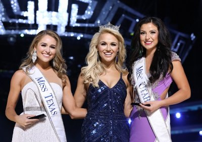 From Left: Miss Texas Margana Wood, Miss America 2017 Savvy Shields, and Miss Utah JessiKate Riley
