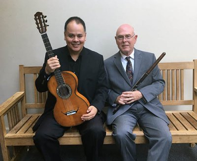 Violauta Duo to perform at Marshall before visit to Italy