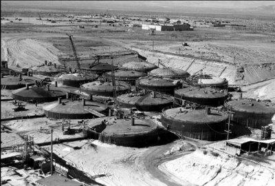 Hanford Tanks (DOE photo)