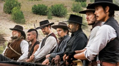 "FIRST LOOK:  ""Magnificent Seven"" Saddles Up Excitement as an Ole West Mercenary Squad"