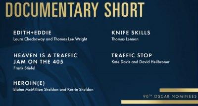 "Huntington Based ""Heroin(e)"" Nominated for Oscar, Favorite Per Hollywood Reporter Forecaster"