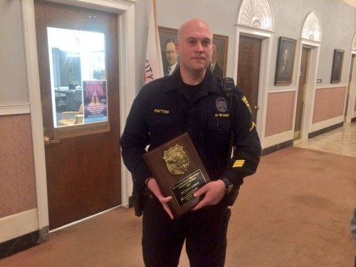 Kyle Patton HPD Officer of the Year
