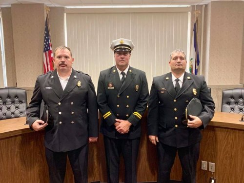 MDA Fire Department Boot Drive Thursday; Three Firefighters Promoted