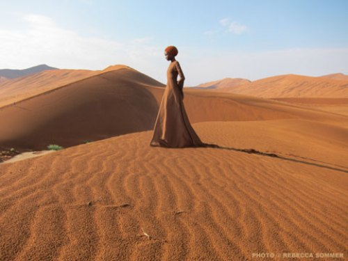 'ART STUFF': Work in Progress Namib Desert Video from Rebecca Sommer